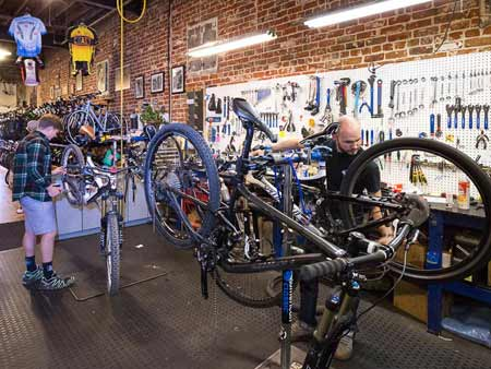 Peak Cycles Service Department | Golden, Colorado