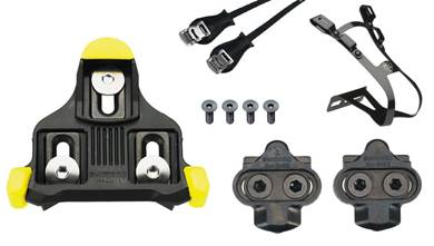 Pedal Parts -  Cleats, Parts, Toe Clips