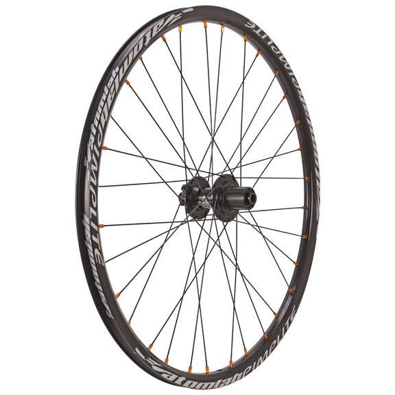 "Atomlab Pimplite 26"" Rear Wheel, 12x135 32h - Black"