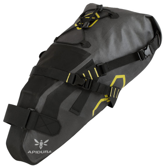 Apidura Saddle Pack Dry, medium - grey/black