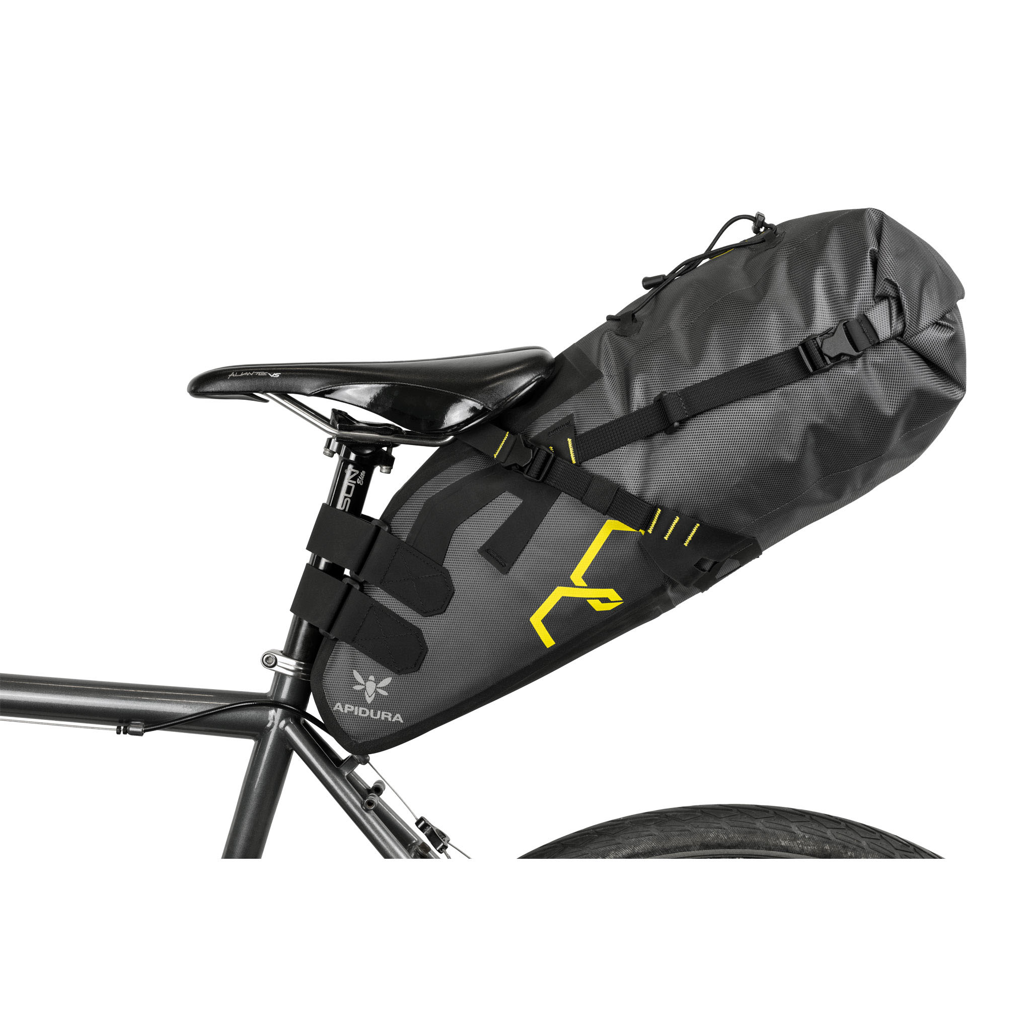 Apidura Expedition Saddle Pack, large - grey/black