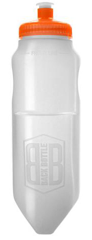 Backbottle Backbottle, 18oz - White/Orange