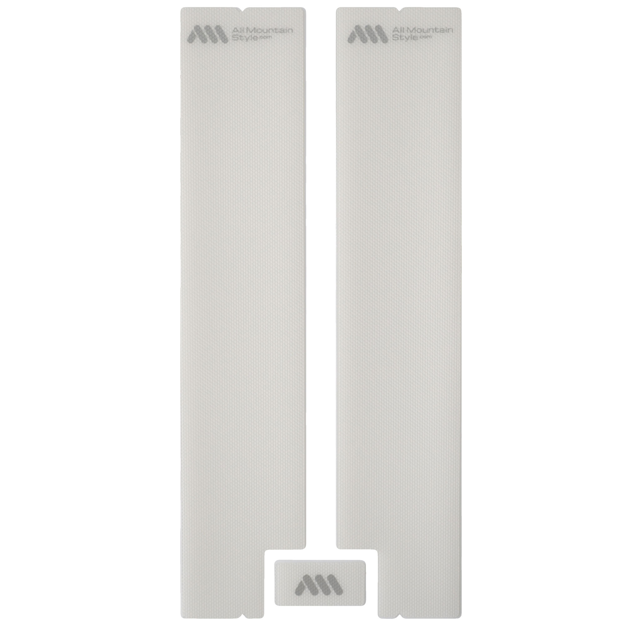All Mountain Style Honeycomb Fork Guard, Clear/Silver