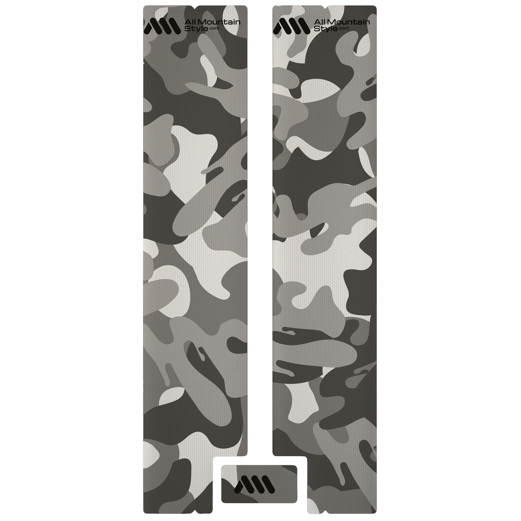 All Mountain Style Honeycomb Fork Guard, Clear/Camo