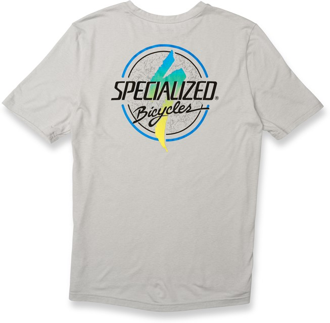 Specialized STANDARD TEE BOARDWALK Stone Grey/Fade L - 2019