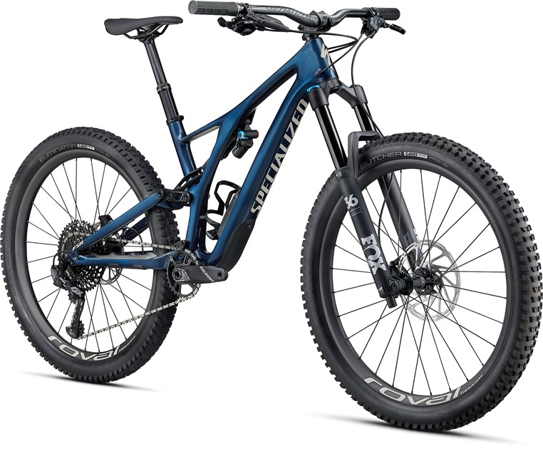 Specialized Stumpjumper Expert Carbon 27.5 GLOSS NAVY / WHITE MOUNTAINS S - 2020