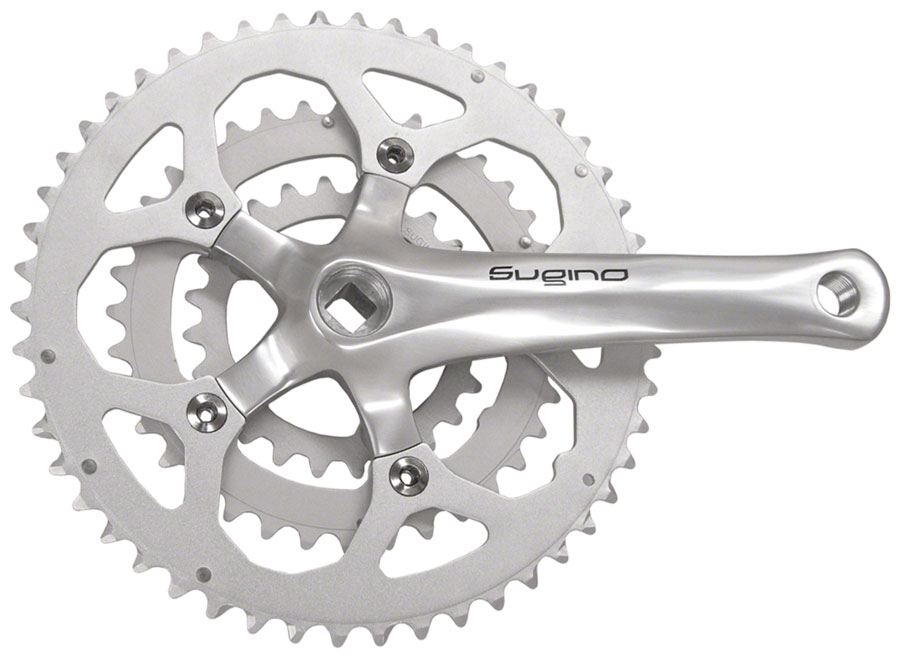 Sugino XD600 8/9 Speed 152mm 24/36/50t 74/110mm Crankset, Bottom Bracket Not Included
