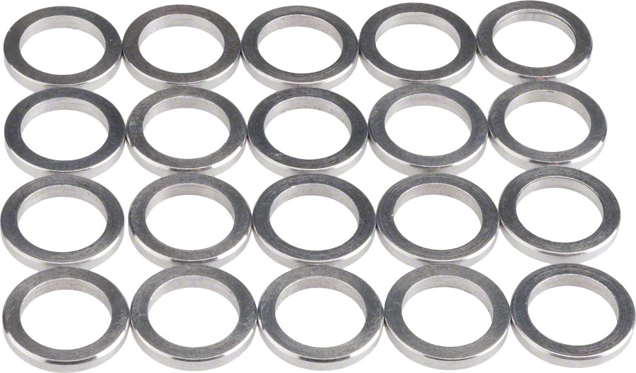 wheels manufacturing 2 0mm aluminum chainring spacer bag