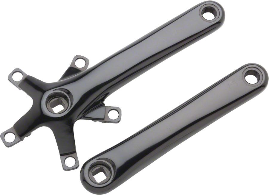 Dimension 110 Crank Arm Set, 110/74BCD,175mmBlack, Includes Bolts | Bikeparts.Com