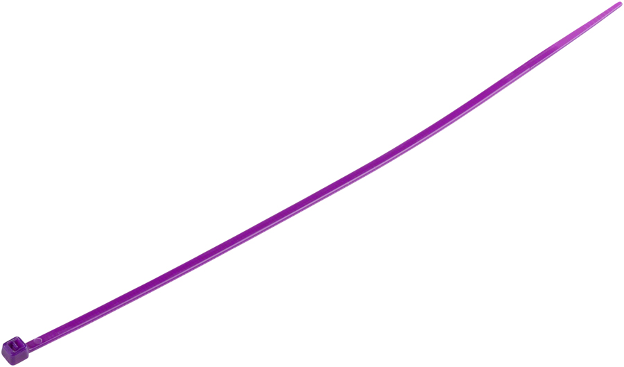 Problem Solvers Zip Tie - 2.5 x 200mm, Box/100, Purple