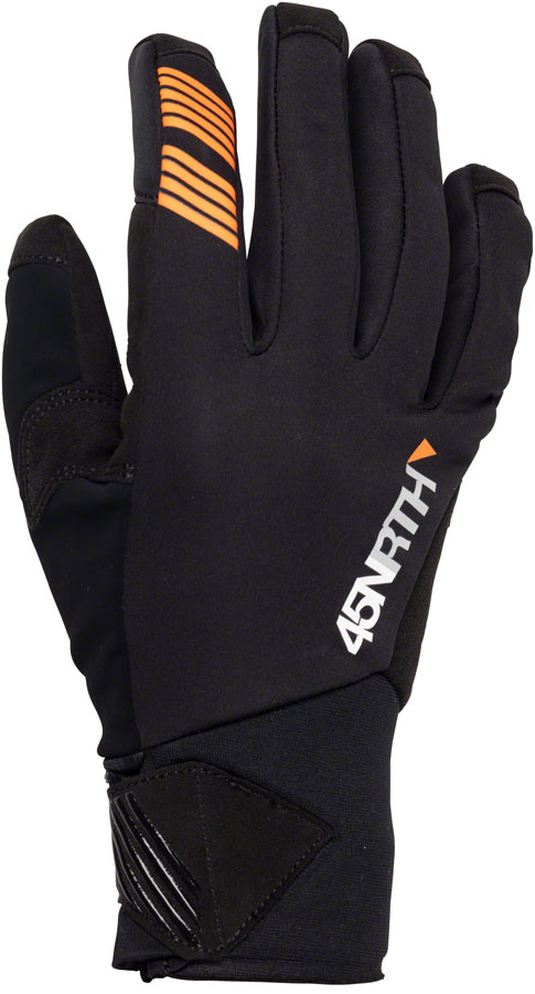 45NRTH Nokken Glove - Black, Full Finger, X-Large (10)