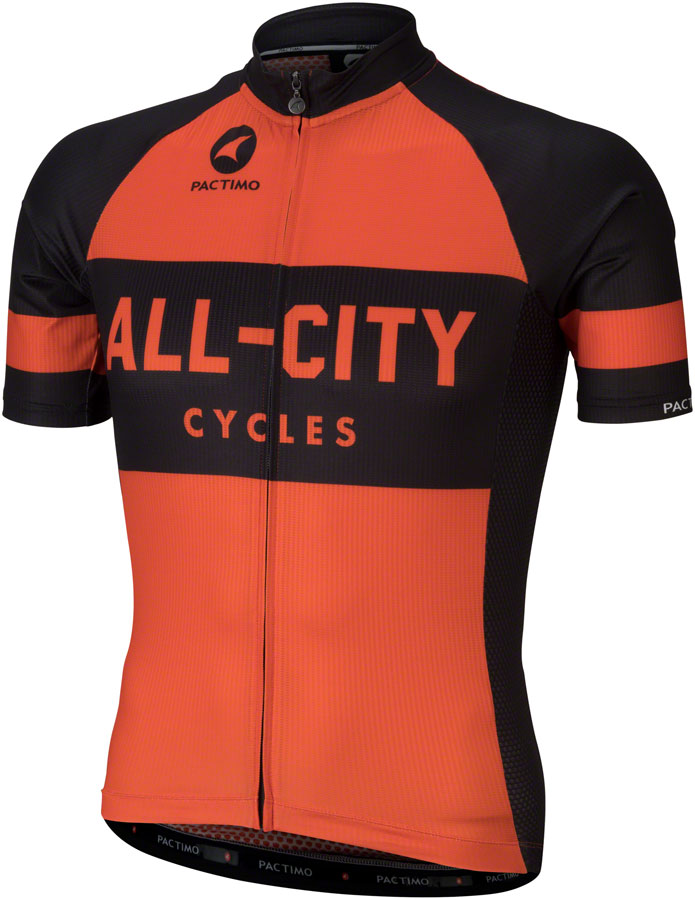 All-City Classic Jersey - Orange, Short Sleeve, Men's, Medium