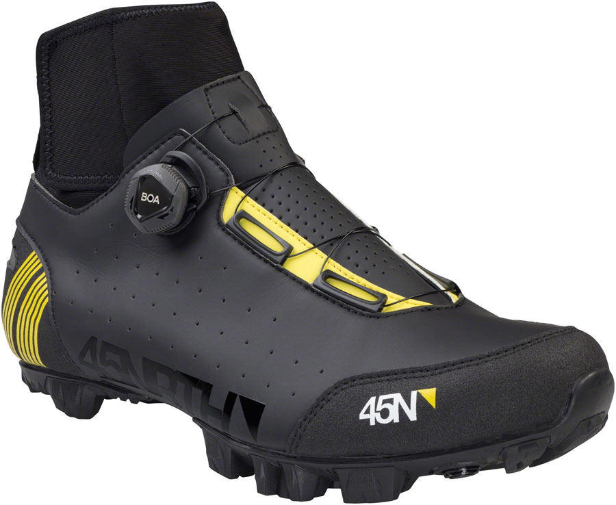 45NRTH Ragnarok MTN 2-Bolt Cycling Boot: Black Size 45