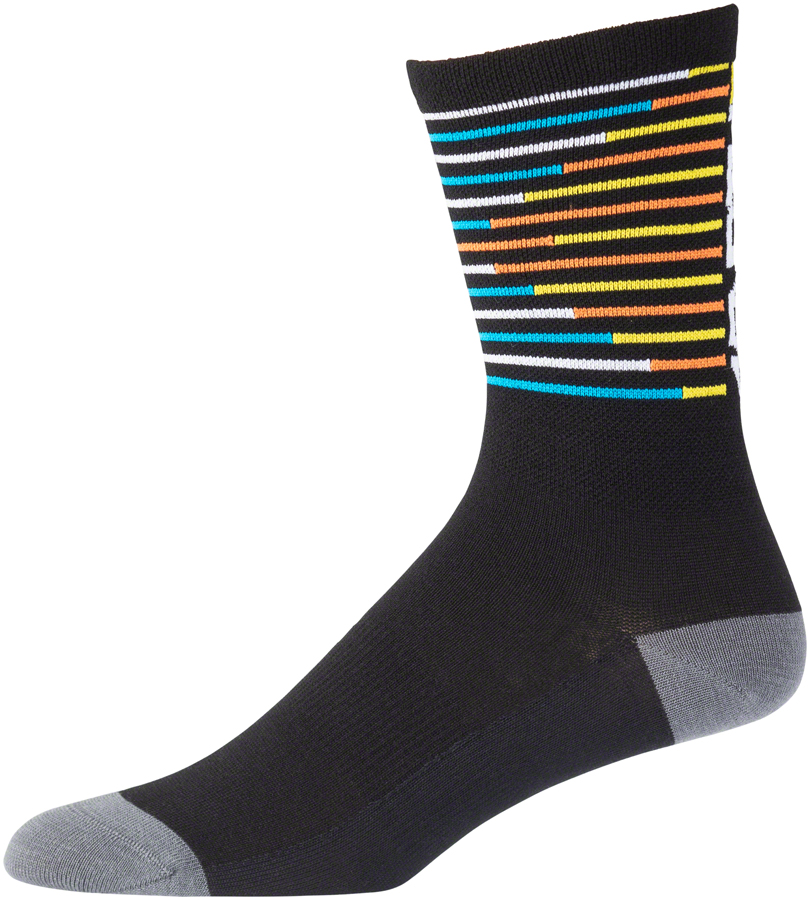 "45N Lightweight Decoder Sock - 7"", Multi, Small"
