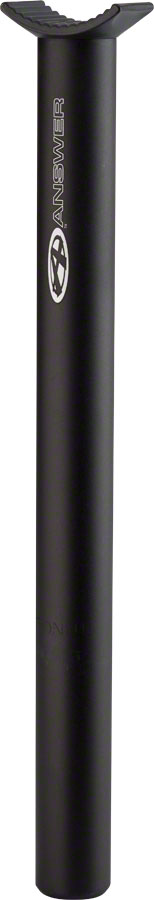 Answer BMX 27.2mm Alloy Pivotal Seatpost, Black
