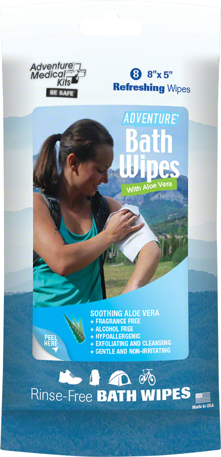 Adventure Medical Kits Adventure Bath Wipes - Travel Size